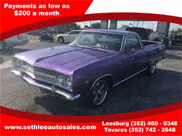 New Chevrolet El Camino 1965 Chevrolet El Camino For Sale On Classiccars Com 8 Available