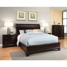 abbyson sydney 4 espresso wood bedroom set free shipping