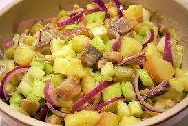 cuisiner le hareng recette de salade parmentière aux harengs et aux céleris la