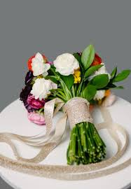 Flower Arranging For Beginners How To Make A Diy Wedding Bouquet From Start To Finish A