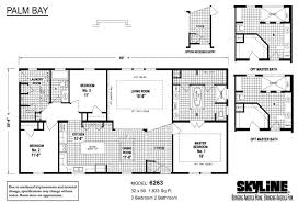 Skyline Manufactured Homes Floor Plans Palm Bay 6263 By Skyline Homes