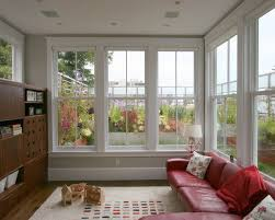 sunroom windows height of the windows in the sunroom large single mullion window