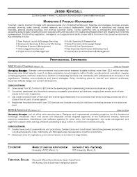 Sample Marketing Resume Best Solutions Of Sample Marketing Manager Resume Also Sample