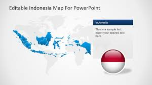 Indonesia World Map by Editable Indonesia Powerpoint Map Slidemodel