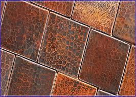 Copper Tiles For Backsplash Remarkable Exquisite Interior Home - Copper tiles backsplash