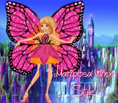 barbie mariposa u0027winx style u0027 veronica taylor deviantart