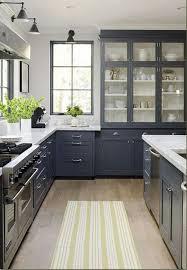 painted blue kitchen cabinets blue gray cabinets kitchen photogiraffe me