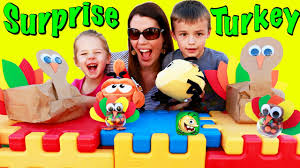 thanksgiving day games for kids thanksgiving surprise turkeys for kids best fiends game u0026 diy