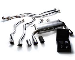 nissan 350z quad tip exhaust bmf33 qs15c armytrix stainless steel valvetronic catback exhaust