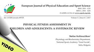 physical fitness assessment in children and adolescents research
