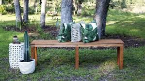 How To Build A Garden Bench How To Build A Diy Garden Bench Angie U0027s List