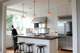 double pendant lights over sink traditional kitchen industrial bar design kitchen traditional with industrial bar stool