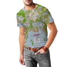 Epcot Center Map Epcot Center Map Mens T Shirt Rainbow Rules