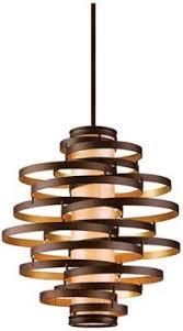 vertigo spiral bronze and gold leaf modern pendant chandelier lighting modern living room vertigo 4 light pendant with choice of finish pendant lighting