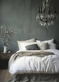 style de chambre adulte déco chambre grise et ambiance baroque