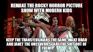 Rocky Horror Meme - rhps classics and remakes nina s soap bubble box