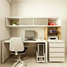 Alluring Modern Home Office Desks With Modern Small White Desk - Home office desk designs