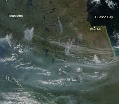 Wildfire In Arizona 2013 by Nasa Image Fires In Manitoba Canada
