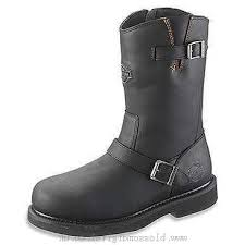 boots s harley davidson darnel black leather 308767 canada