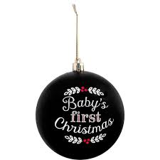 Christmas Ball Ornaments Wholesale Baby U0027s 1st Christmas Ball Ornament U2013 Pearhead