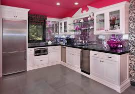 interior extraordinary eclectic kitchen decoration with white