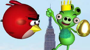king kong king pig 3d animated angry birds spoof mashup