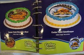cedar point dairy queen exclusive licensed cakes cp food blog