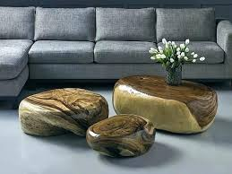 river stone coffee table gold and stone coffee table river stone coffee table river stone
