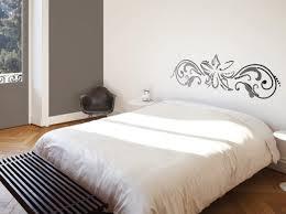 peinture deco chambre idees deco chambre tete de lit pochoir idea wall