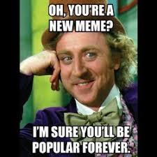 Popular Meme - popularity spikes hurt future chances for viral propagation of