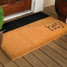 Coco Doormat Hello Coco Door Mat Grandin Road