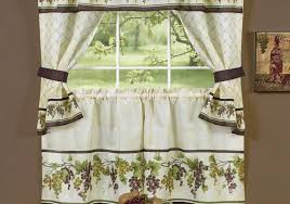 decor kitchen curtains ideas brilliant bay window kitchen curtains home design ideas and pictures