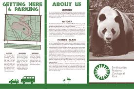 zoo brochure template zoo brochure search the las vegas zoo