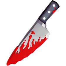 large bloody knife icing decoration 710 7144 country kitchen