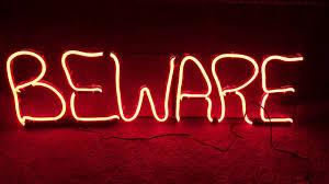 new gemmy halloween short circuit light sign beware youtube