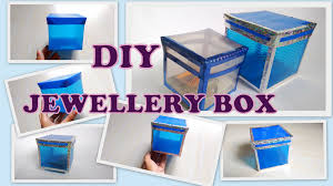 how to make storage jewellery box from plastic sheets diy 2016