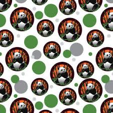 soccer wrapping paper panda bamboo premium gift wrap wrapping paper