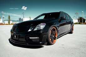 bagged mercedes e class brabus mercedes benz e 63 amg wagon is pure awesome performancedrive