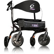Airgo Comfort Plus Transport Chair Airgo Fusion Hemi Height Side Folding Rollator U0026 Transport Chair