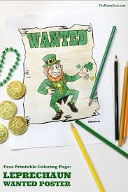 saint patrick u0027s day coloring pages the mama zone
