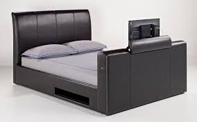 Bed Frame With Tv In Footboard 8 Best Tv Beds With Built In Tvs Qosy