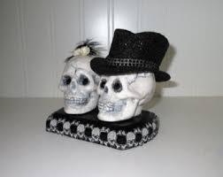 skull cake topper skull cake topper etsy