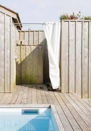 Outdoor Shower Curtains Bath Outdoor Sunbrella Shower Curtains