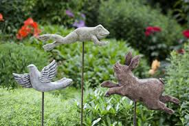 outdoor statues of animals and birds for gardens cincinnati