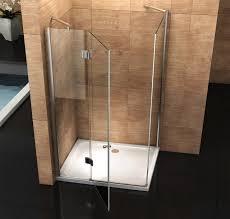 box doccia cristallo 80x80 box doccia cristallo 8 mm porta a battente e lato fisso pura