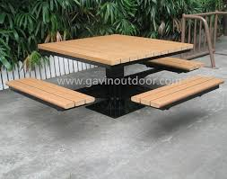 recycled plastic picnic tables metal and recycled plastic picnic table park furniture set view