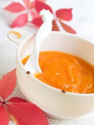 cuisine pour bébé purée pour bébé potiron patate douce carotte dès 6
