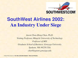 airways reservation siege ppt southwest airlines 2002 an industry siege powerpoint