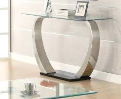 Glass Sofa Table Modern Modern Glass Entry Table The Modern Entry Table And Style