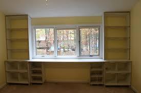 Built In Desk Diy Home Design Appealing Bookcase With Built In Desk Diy Built In